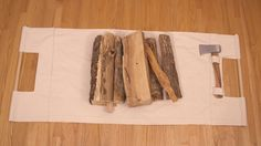 Carry your firewood in style with this DIY log carrier