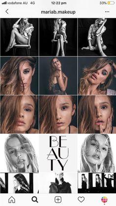 Best Instagram Feeds, Instagram Feed Ideas Posts, Most Popular Instagram, Makeup Themes, Instagram Collage, Show Makeup, Creative Eye Makeup, Instagram Design, Makeup On Fleek