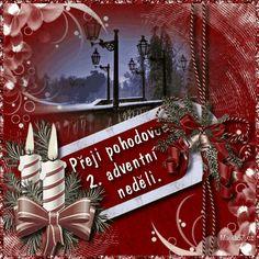 vanoce_adventni_prani Christmas Wreaths, Merry Christmas, Christmas Ornaments, Santa, Holiday Decor, Beautiful, Home Decor, Merry Little Christmas, Decoration Home