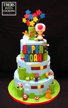 136 Best Super Mario Cakes Images Mario Bros Cake Super