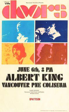 The Doors poster 1970