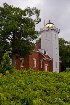 40 Mile Point Lighthouse (Michigan), Lake Huron