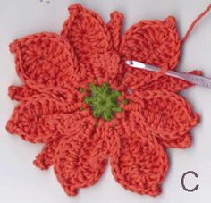 Stitchfinder : Crochet Flowers: Poinsettia : Frequently-Asked Questions (FAQ) about Knitting and Crochet : Lion Brand Yarn