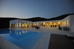 A Stunning Private Residence in the Cyclades