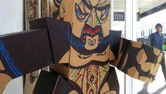 Reweti Arapere, Uenuku (detail), cardboard, permanent marker, paint marker 1000 x 1000 x photo by Rob Garrett Maori Art, Permanent Marker, Visual Arts, Culture, Artists, Contemporary, Drawing, Detail, Gallery