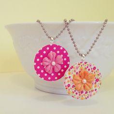 Craft Tutorial: Washi Tape Pendant Necklaces (Craft Lightning!) | Mrs. Greene - crafts, food, fashion, life