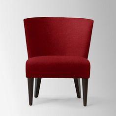 Veronica Taper Leg Chair - Solids #westelm