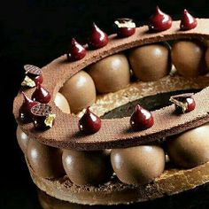 One of the favourites. Chocolate World, Chocolate Art, Chocolate Desserts, Fancy Desserts, Delicious Desserts, Chocolate Crunch, Chocolate Sculptures, Bakery Cakes, French Pastries