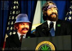 Cheech and Chong for president