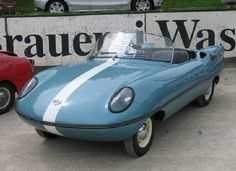 1957/61 Goggomobile Dart Sports Micro Car (Australia) 293cc and 392cc Two-Stroke Twin-Cylinder Air-Cooled Engines