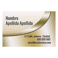 Tarjetas de Visita Una Cara Horizontal Gold Silver, Jewelry, Business Cards, Faces, Jewlery, Jewerly, Schmuck, Jewels, Jewelery