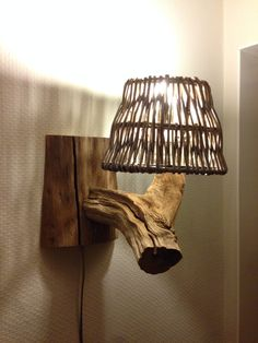Special lighting of natural old oak wood.