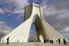 The Azadi Tower in Tehran. Image: Sergio Pitamitz/robertharding/Corbis | www.piclectica.com #piclectica