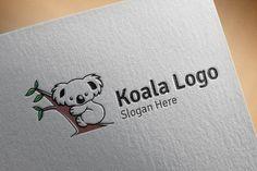 Koala logo by denayunebgt on @creativemarket