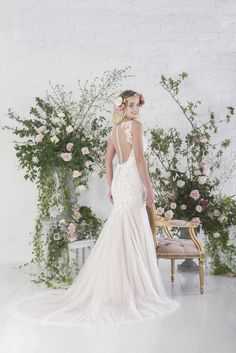 Paige | Charlotte Baliber | Untamed Love Collection | Bridal Gowns | http://www.rockmywedding.co.uk/untamed-love-charlotte-balbier/