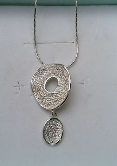 Large silver pendant crisscross necklace sterling silver 925 silver chandelier pendant sterling silver pendant silver necklace handmade silver pendant women unique pendant textured silver pendant aloadofball Gallery