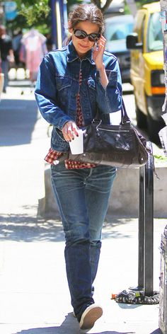 25 Ways to Style a Denim Jacket, Inspired by the Stars