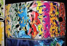 Shadow Alphabet Graffiti