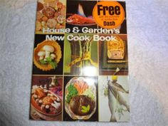 HOUSE & GARDENS NEW COOK BOOK VINTAGE 1967 COOKBOOK SOFT COVER 404 PAGES RECIPES
