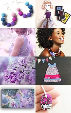 Lilac love by Roberta on Etsy--Pinned with TreasuryPin.com