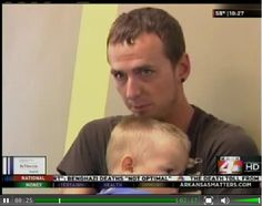 Our House Provides Shelter for Homeless Fathers. Report by KARK.