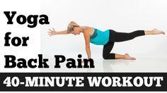Ioga para quem sofre de dores nas costas - 40 minutos! é um treino com posturas de Ioga para ajudar todos os que sofrem de dores lombares, dorsais e cervicais. Ideal para quem passa a maior parte do dia sentado, de pé, num trabalho extenuante.