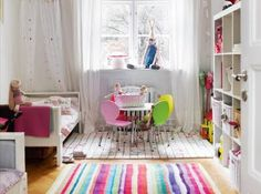 Child's colorful room