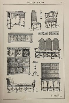 Hey, I found this really awesome Etsy listing at https://www.etsy.com/listing/237861299/english-william-and-mary-furniture