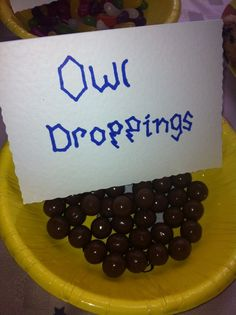 Owl Droppings   Birthday Party Ideas for Boys   Easy DIY Party Food for Kids