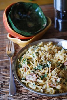 Pasta carbonara by JuliasAlbum.com, via Flickr