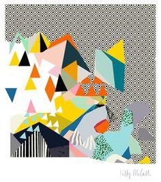 print & pattern: kitty McCall print at unlimited shop Brighton