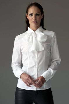 White High-Collar - Always timeless (#White #Blouse) | W H I T E ...