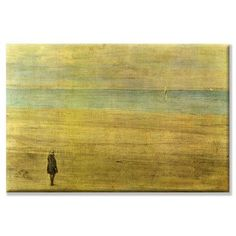 """Buyenlarge Harmony Trouville by James Abbott McNeill Whistler Painting Print on Wrapped Canvas Size: 20"""" x 30"""""""