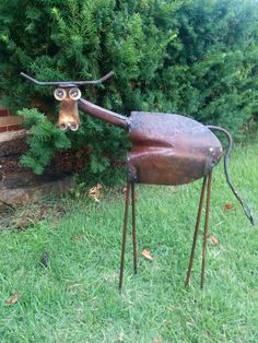 "Check out our site for more details on ""metal tree sculpture"". It is actually a great spot to learn more. Metal Yard Art, Metal Tree Wall Art, Scrap Metal Art, Metal Artwork, Welded Metal Art, Welding Art Projects, Metal Art Projects, Metal Crafts, Diy Welding"