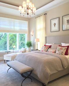 Super Ideas For Bedroom Master Country Interior Design Bedroom Green, Bedroom Colors, Dream Bedroom, Master Bedroom, Bedroom Decor, Country Interior Design, Suites, Trendy Bedroom, Home Decor Furniture