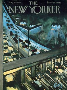 The New Yorker - Saturday, August 31, 1963 - Issue # 2011 - Vol. 39 - N° 28 - Cover by : Arthur Getz