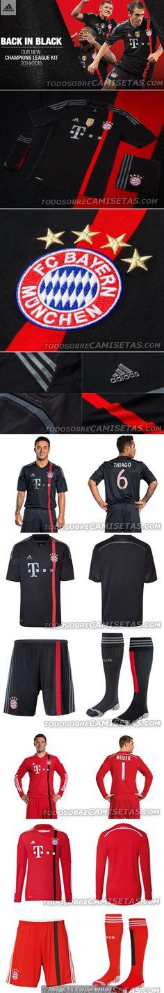 F.C. Bayern Munich Third Kit 2014/15 ES HERMOSO♥ MIA SAN MIA♥
