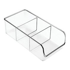 InterDesign Linus Kitchen Pantry Refrigerator Freezer Storage Container Clear >>> You can get more details by clicking on the image.