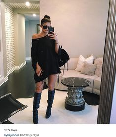 Adds up: On Friday, Kylie Jenner captioned a picture of her outfit 'can't buy style' despite it having a hefty price tag