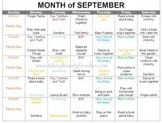 Beauty for Ashes: Toddler activity schedule