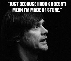 Jim Carrey quote rock stone 20 Jim Carrey quotes to make you feel better about yourself