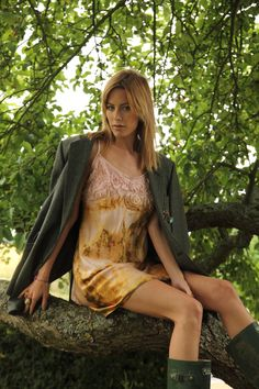 Check out the deal on Satin Dip-Dyed Dipped Mini Dress with Spaghetti Straps and Cutwork at Eco First Art