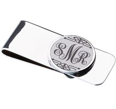 This handsome White Money Clip will show your appreciation to the groomsmen or the father of the bride/groom.
