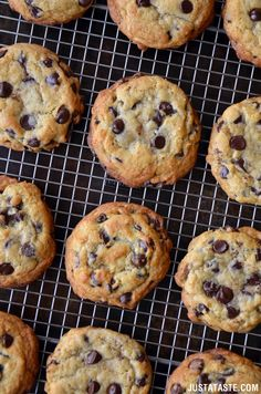 Secret Ingredient Chocolate Chip Cookies Recipe (the secret is to swap out butter for cream cheese!...creates soft cookies that are chewy on the inside and crisp on the outside)