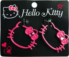 Hello Kitty Earrings <3