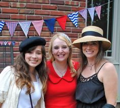 French garden party