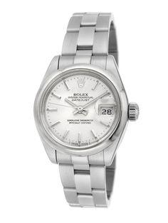 Estate Watches Women's Rolex Date Just Stainless Steel Watch