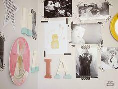 Tu Cajón Vintage: Diseña tu propia pared molona #kids #walls #moodboard #decoration