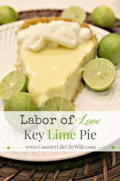 Best key lime pie recipe ever. Authentic key lime pie recipe by a South Florida native. Free printable recipe card.