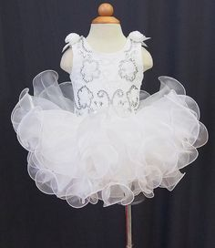 Infant/toddler/baby/children/kids Girl's Pageant evening/prom/ball Dress/clothing/gown for birthday,new born,gift,party, 1~4T New G070-3